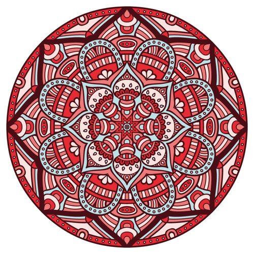dekodino Wandtattoo »Mandala als Kreis mit Ornamenten« (1 Stück)