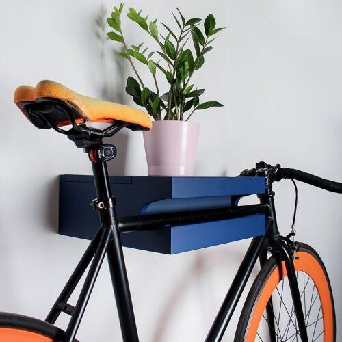 TWONEE »Fahrrad Wandhalterung Amsterdam« Fahrrad-Wandhalterung, Blau