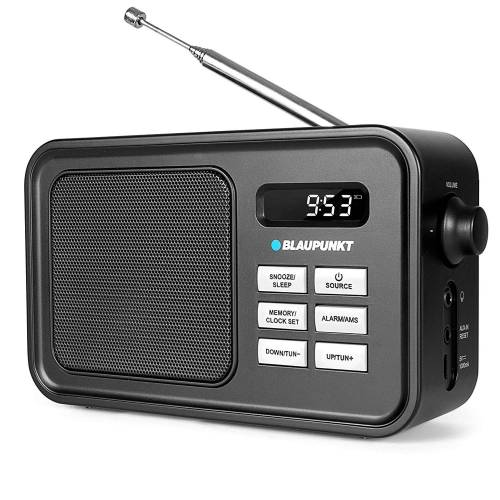 Blaupunkt Radio (UKW mit RDS, Portable UKW Radio Taschenradio)