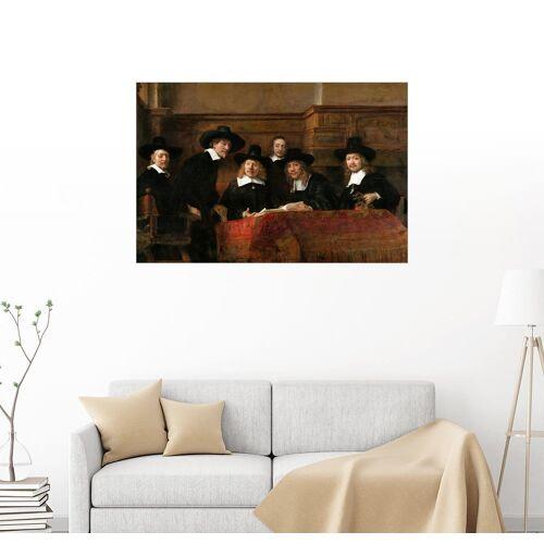 Posterlounge Wandbild, Die Staalmeesters