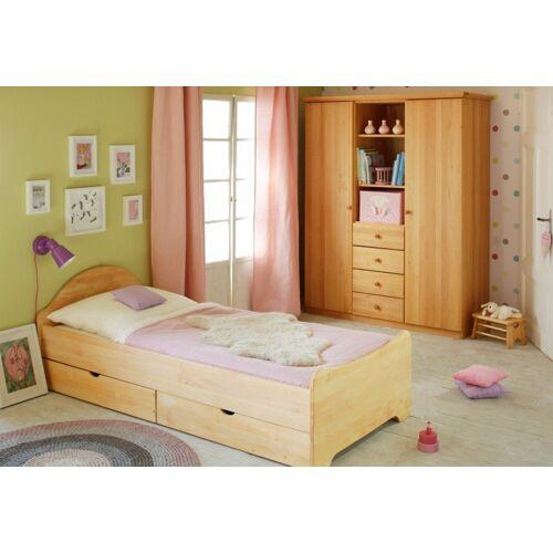BioKinder - Das gesunde Kinderzimmer Kleiderschrank »Lena« mit 8 flexiblen Einlegeböden und 1 flexible Kleiderstange