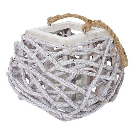 MCW Windlicht »Windlicht-40«, Zum Stellen oder Hängen geeignet, Zum Stellen oder Hängen, Mit Glaseinsatz