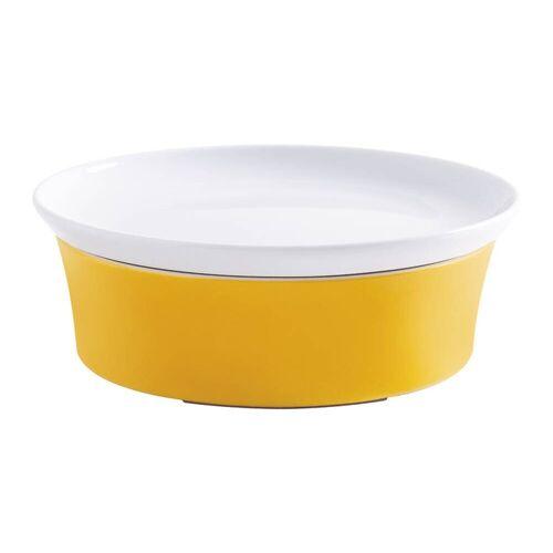 Kahla Auflaufform »Auflaufform mit Deckel Magic Grip Kitchen Colore«, Porzellan