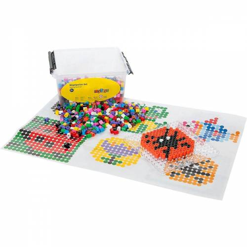 myToys Bügelperlen »XL-Bügelperlen in Box, 1.200 Stück«