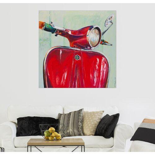 Posterlounge Wandbild, Vespa Rot