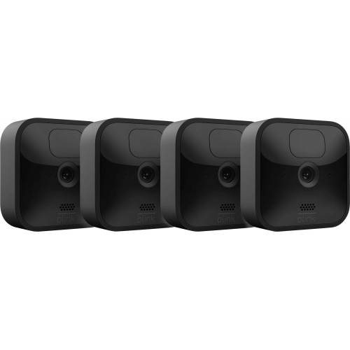 blink »Outdoor 4-Kamera-System« Überwachungskamera (Außenbereich, Innenbereich)
