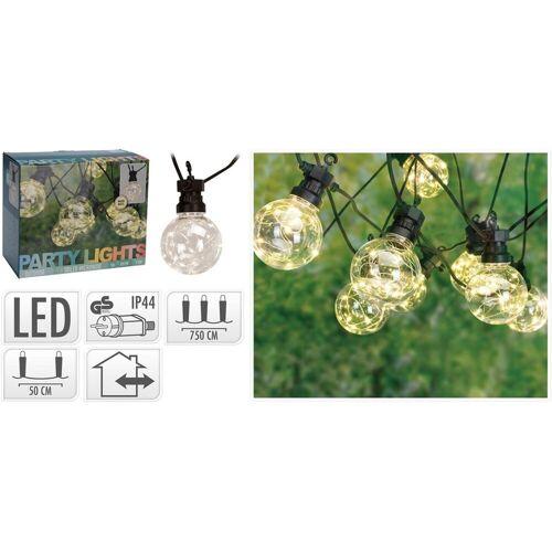 HTI-Living LED-Lichterkette »LED Beleuchtung LED Beleuchtung 50 LED«, 10-flammig
