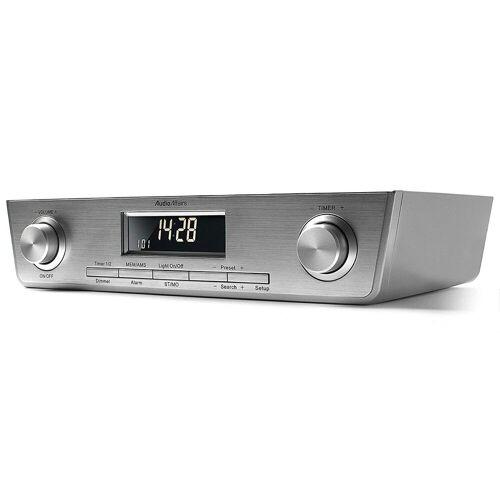 AudioAffairs Radio (UKW/FM PLL, Küchen Unterbau Radio mit Eieruhr inkl. Montagematerial)