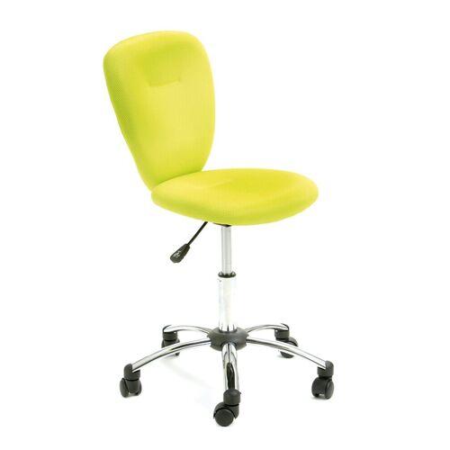 ebuy24 Gaming-Stuhl »Mals Bürostuhl Kinder Kinder, grün, chrom.«
