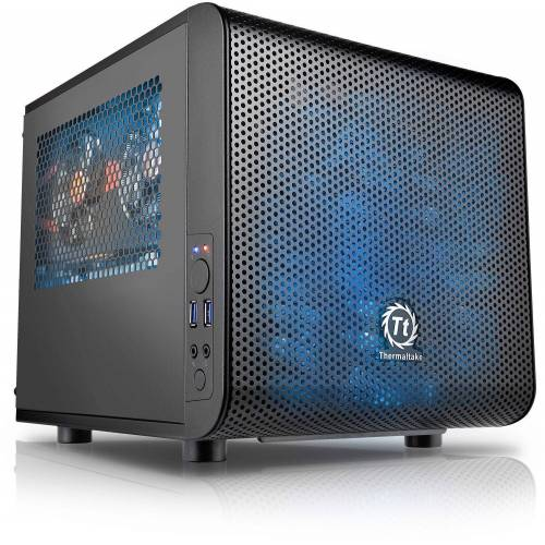 Kiebel Cube Gaming-PC (AMD Ryzen 5, Radeon Vega, 16 GB RAM, 512 GB SSD, Luftkühlung, WLAN)