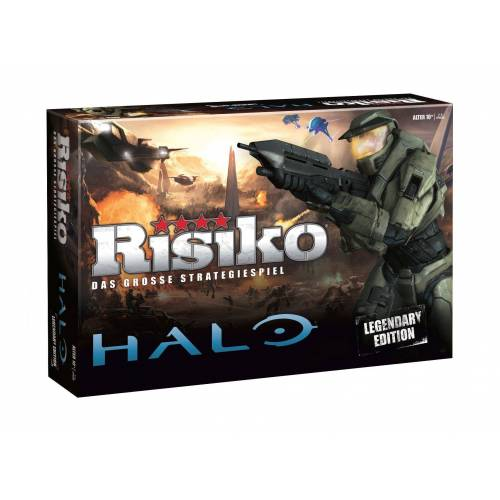 Winning Moves Spiel, Brettspiel »Risiko Halo - Legendary Edition«