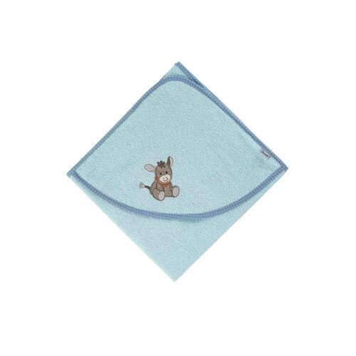 Sterntaler® Badetuch »Frottee Badetuch 80 x 80 Emmi Kapuzenbadetücher«