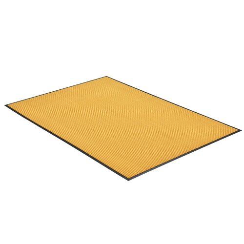 en.casa Fußmatte, , rechteckig, »Maison« - 240x180cm - Senffarben, senffarben