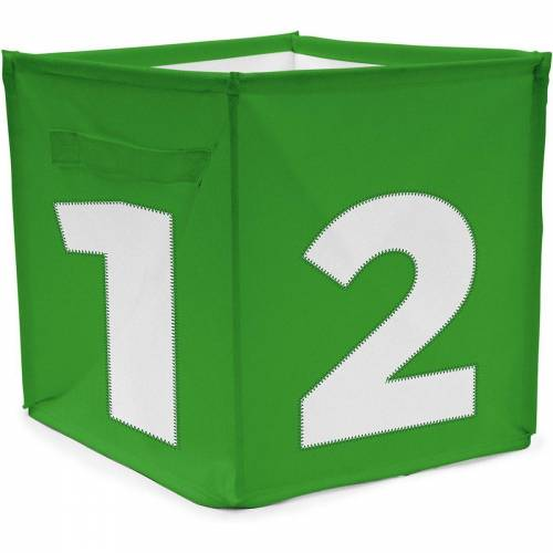 ACHOKA® Aufbewahrungsbox »Aufbewahrungsbox Würfel - rot«, grün