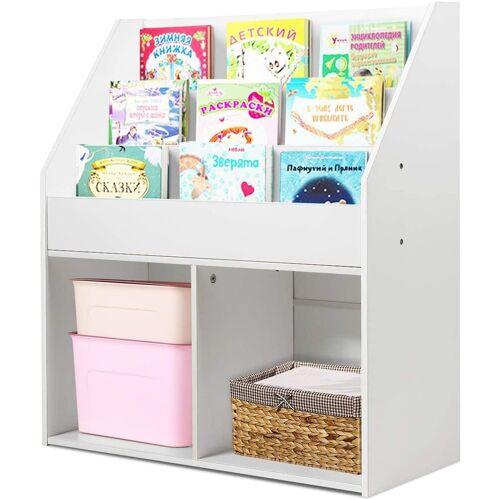 COSTWAY Bücherregal »Kinderregal«, Kinderregal freistehend