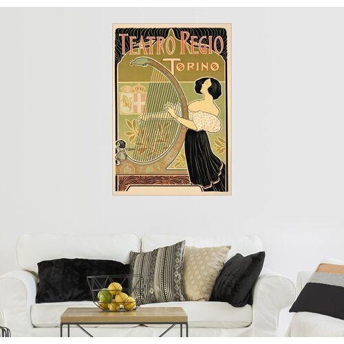 Posterlounge Wandbild, Werbeposter 'Theatre Royal', Turin