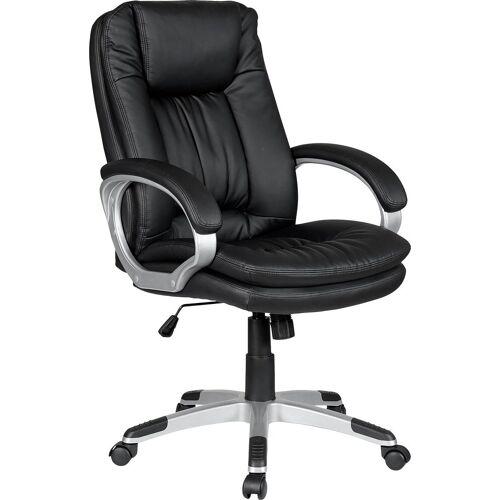 SalesFever Schreibtischstuhl Drehstuhl, bequemer Chefsessel