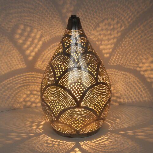 Casa Moro Nachttischlampe »Orientalische Lampe Alia Samak D20«