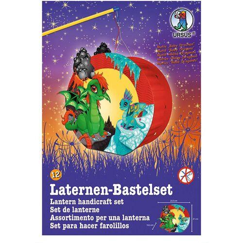 URSUS Laterne »Laternen-Bastelset Easy Line, Baby Drachen«