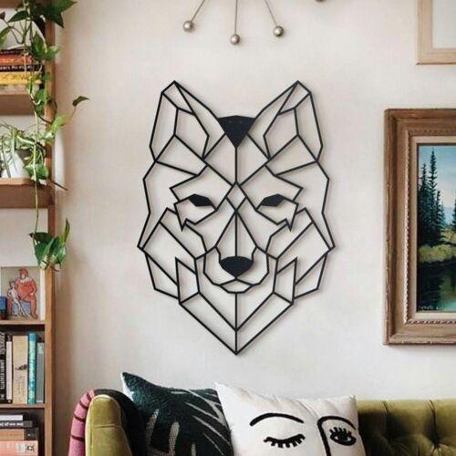 Hoagard Wandbild »WOLF XL aus Metall«, Wanddekoration aus Metall