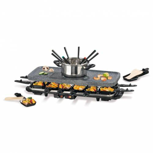GOURMETmaxx Raclette und Fondue-Set