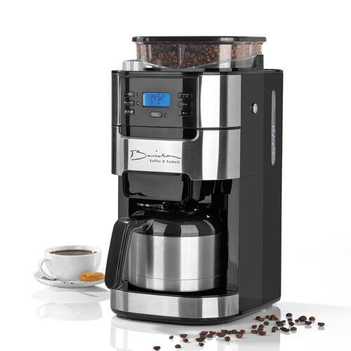 Barista Kaffeemaschine mit Mahlwerk, 1l Kaffeekanne, inkl. Isolierkanne