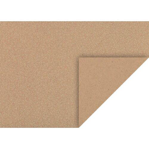 VBS Motivpapier »Naturkarton Punkte«, 50 cm x 70 cm
