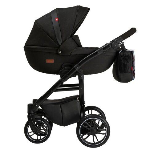 Clamaro Kombi-Kinderwagen, Grander Kinderwagen 2in1 Kombikinderwagen von , Schwarz