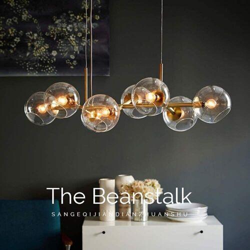 ZMH LED Pendelleuchte »Glas Kugel Leuchte Pendellampe Hängellampe LED«