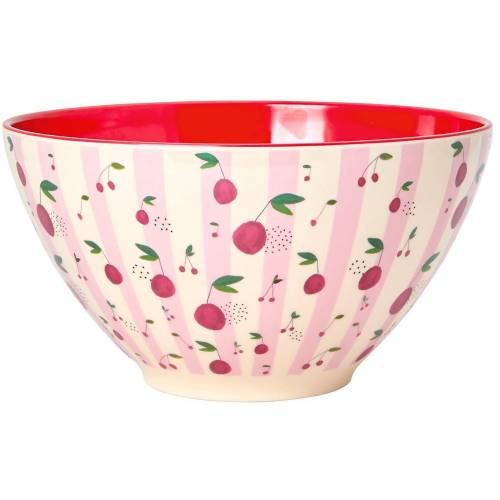 "rice Salatschüssel »Melamin Salat-Schüssel ""Cherry"", Ø26,5x14,5cm«"