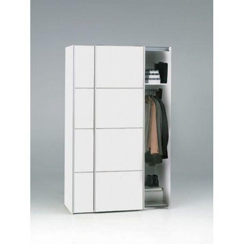 ebuy24 Kleiderschrank »Verona Schwebetürenschrank Breite 122 cm, Höhe 201«