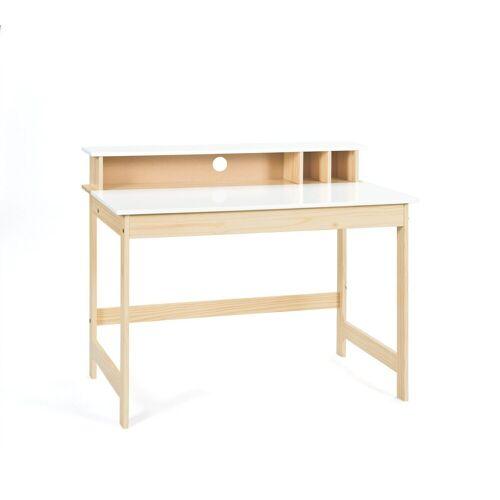 ebuy24 Schreibtisch »Giese Schreibtisch 1 aufklappbare Tischplatte, 3 o«