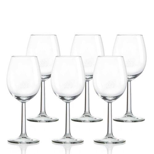 Ritzenhoff & Breker Weißweinglas »GASTRO Weißweinglas 100 ml 6er Set mit Eichstrich« (6-tlg)