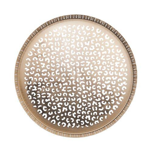 BUTLERS Tablett »PANTHERA«, Edelstahl