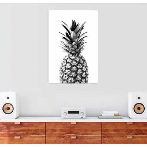 Posterlounge Wandbild, Leinwandbild Ananas