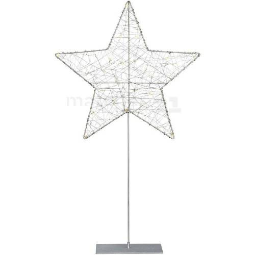 matches21 HOME & HOBBY LED-Lichterkette »LED Weihnachtsstern stehend Weihnachtsleuchter«