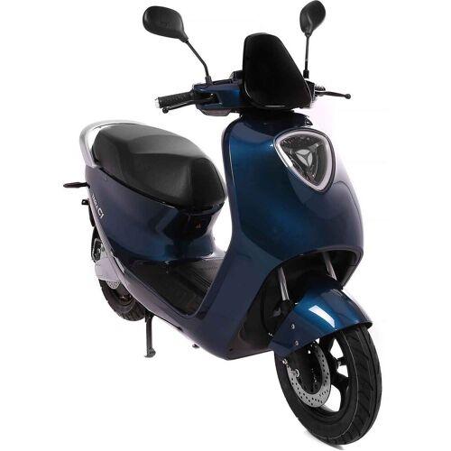 SXT Scooters E-Motorroller »yadea C1S«, 2200 W, 45 km/h, blau