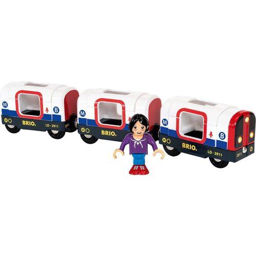 Brio Spielzeug-Eisenbahn »U-Bahn mit Licht und Sound«