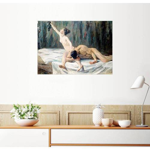 Posterlounge Wandbild, Simson und Delila