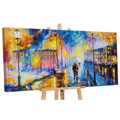 ART YS-Art Gemälde »Romantischer Abend 142«