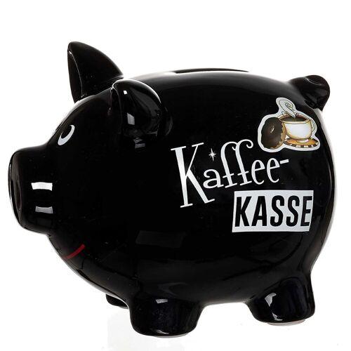 Ritzenhoff & Breker Spardose »KAFFEEKASSE Sparschwein schwarz«