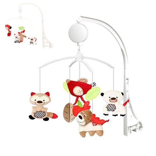 Chipolino Mobile »Musik Mobile Katze«, für Kinderbett und Laufstall mit Drehmechanismus