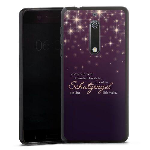 DeinDesign Handyhülle »Schutzengel« Nokia 5, Hülle Engel Schutzengel Sprüche