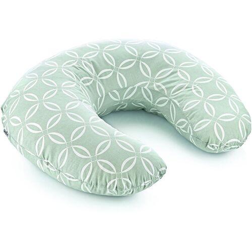 Babyjem Stillkissen »Pflege-, Stütz-, und Stillkissen, grau«, grün