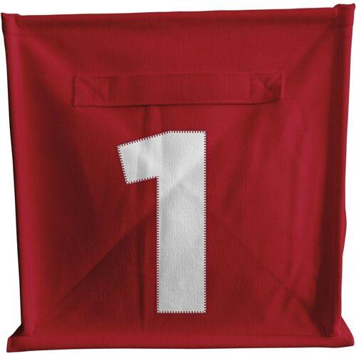 ACHOKA® Aufbewahrungsbox »Aufbewahrungsbox Würfel - rot«, rot