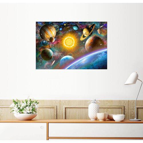 Posterlounge Wandbild, Unser Weltraum