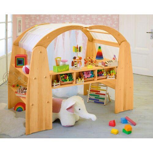BioKinder - Das gesunde Kinderzimmer Kaufladen »Anna«, und Spielhaus, Erle