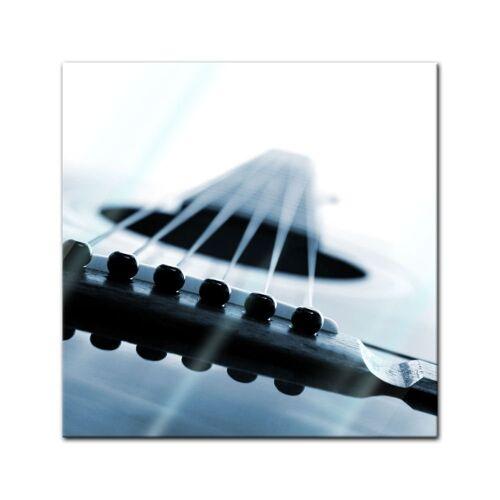 Bilderdepot24 Glasbild, Glasbild - Gitarrenkorpus