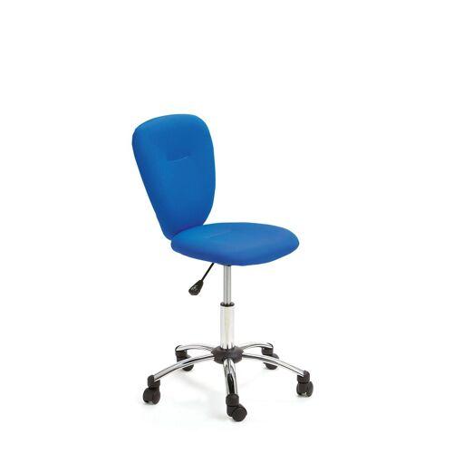 ebuy24 Gaming-Stuhl »Mals Bürostuhl Kinder Kinder, blau, chrom.«
