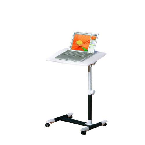 ebuy24 Schreibtisch »Aloma Schreibtisch Laptop Tisch weiss, schwarz.«